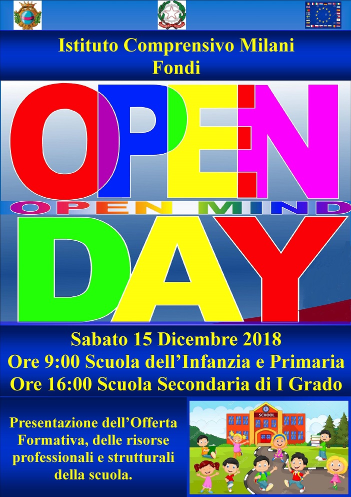 open day 2018 ridotto